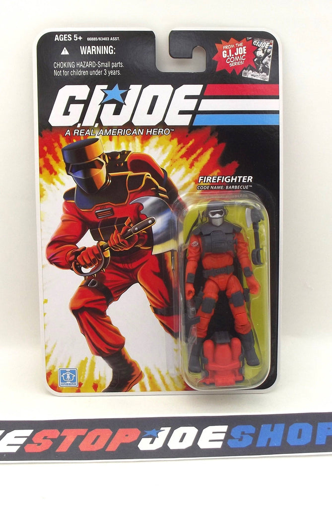 2008 25TH ANNIVERSARY G.I. JOE BARBECUE V4 WAVE 9 NEW SEALED