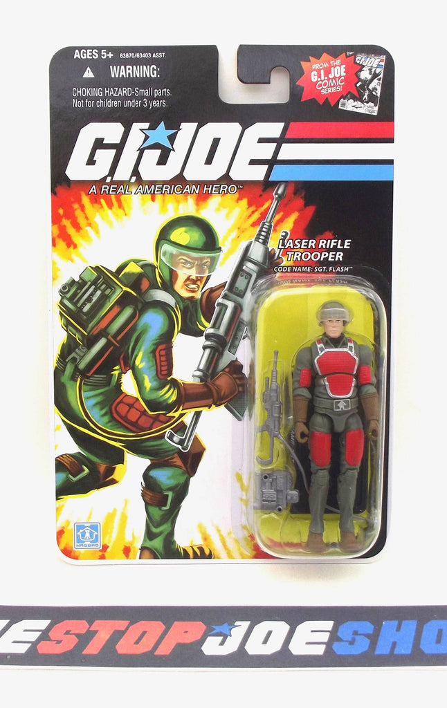 2008 25TH ANNIV G.I. JOE SGT. FLASH V2 WAVE 5 NEW SEALED COMIC CARD