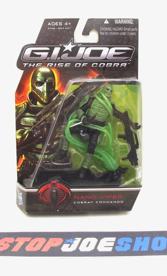 2009 ROC G.I. JOE COBRA NANO-VIPER V1 PIT NEW SEALED
