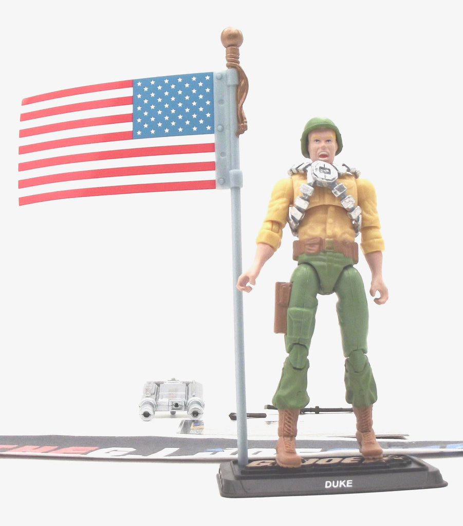 2015 50TH ANNIV G.I. JOE DUKE V29 CHASE FOR THE M.A.S.S. DEVICE PACK LOOSE 100% COMPLETE + F/C