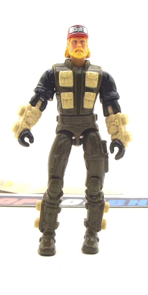2003 BTR G.I. JOE HOLLOW POINT V1 BUILT TO RULE LOCUST PILOT LOOSE 100% COMPLETE + F/C