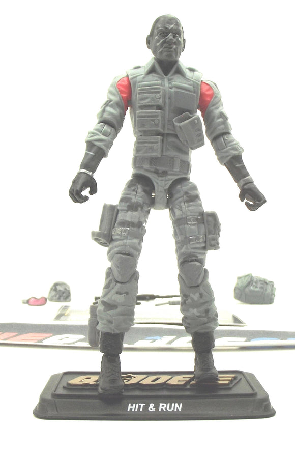 2015 50TH ANNIV G.I. JOE HIT & RUN V5 VANISHING ACT PACK LOOSE 100% COMPLETE + F/C