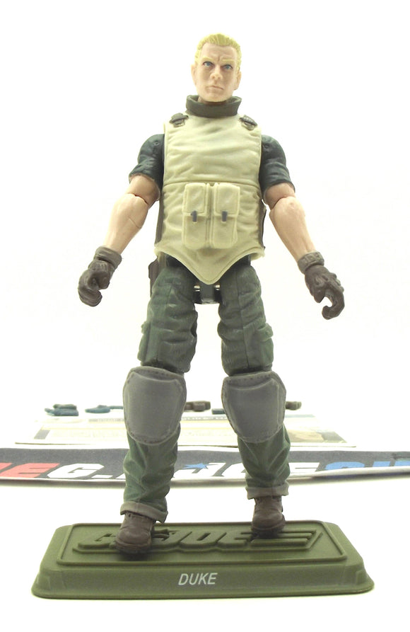 2012 30TH ANNIVERSARY G.I. JOE DUKE V45 RENEGADES PACK AMAZON EXCLUSIVE LOOSE 100% COMPLETE + F/C