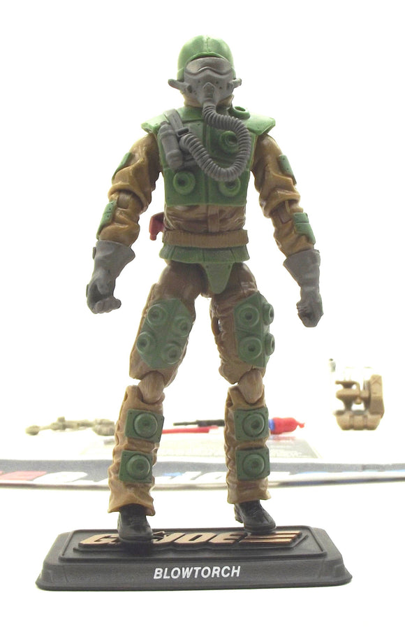 2015 50TH ANNIVERSARY G.I. JOE BLOWTORCH V5 SWAMP STEAM PACK LOOSE 100% COMPLETE + F/C