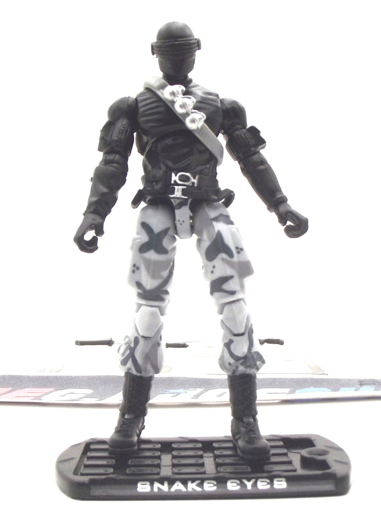 2009 ROC G.I. JOE SNAKE EYES V45 ALPHA VEHICLE ARASHIKAGE CYCLE DRIVER TARGET EXCLUSIVE LOOSE 100% COMPLETE + F/C