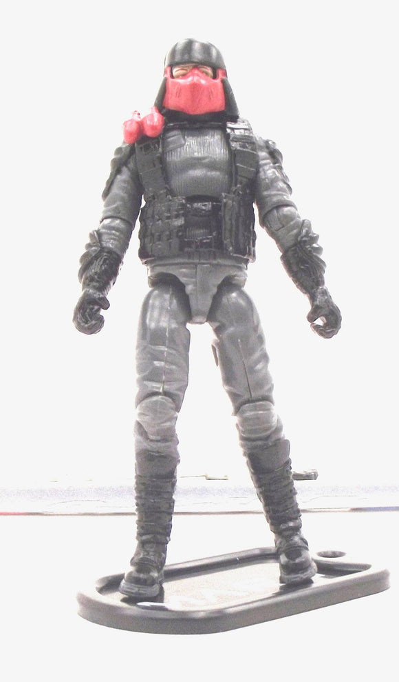 2009 ROC G.I. JOE M.A.R.S. INDUSTRIES TROOPER V1 MARS TROOPERS PACK ROSS EXCLUSIVE LOOSE 100% COMPLETE + F/C
