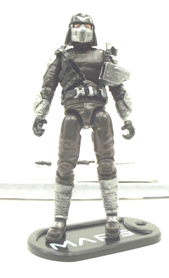 2009 ROC G.I. JOE M.A.R.S. INDUSTRIES OFFICER V1 MARS TROOPERS PACK ROSS EXCLUSIVE LOOSE 100% COMPLETE + F/C