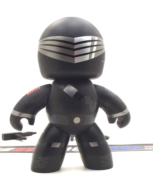 2008-2009 MIGHTY MUGGS G.I. JOE SNAKE EYES VINYL LOOSE 100% COMPLETE W/ BOX