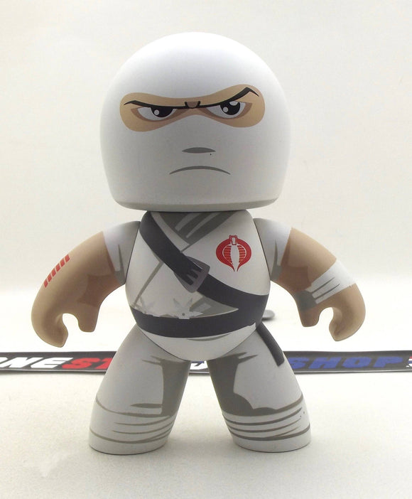 2008-2009 MIGHTY MUGGS G.I. JOE COBRA STORM SHADOW VINYL LOOSE 100% COMPLETE W/ BOX