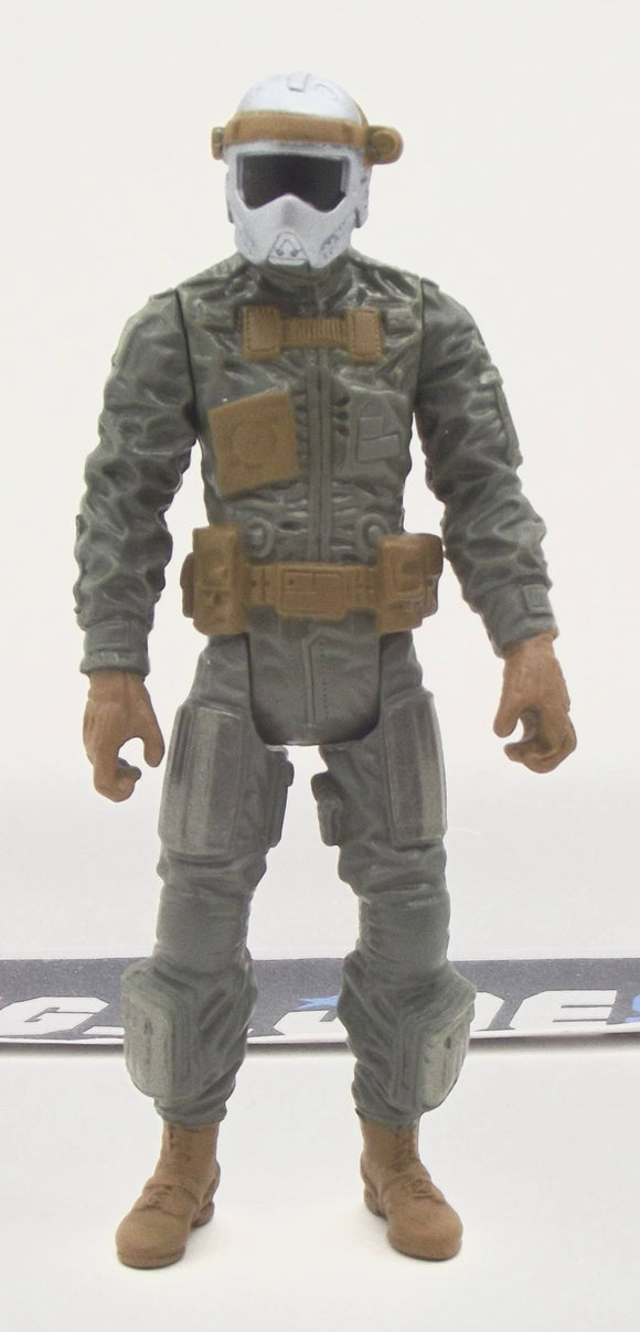 2012 RETALIATION G.I. JOE DUKE V48 DELTA VEHICLE GHOST HAWK II PILOT LOOSE 100% COMPLETE