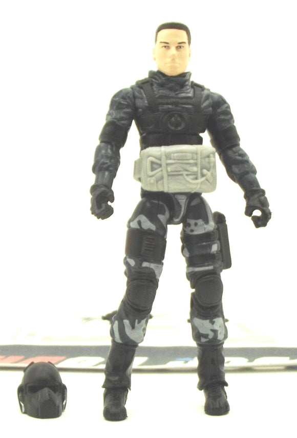 2009 ROC G.I. JOE AIR RAID V1 ALPHA VEHICLE SKY SWEEPER PILOT LOOSE 100% COMPLETE + F/C