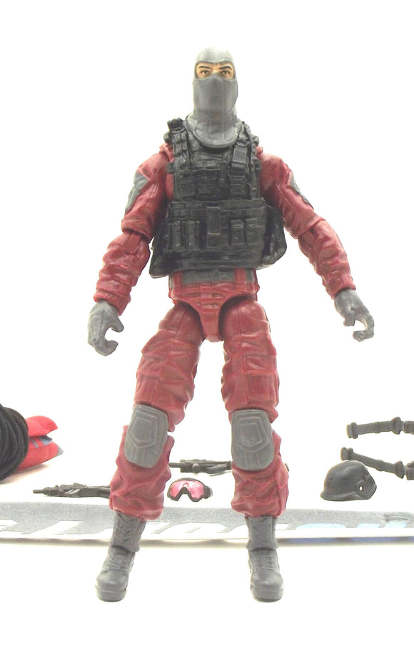 2013 RETALIATION G.I. JOE COBRA INVASION TROOPER V1 COBRA INVASION TEAM PACK LOOSE 100% COMPLETE