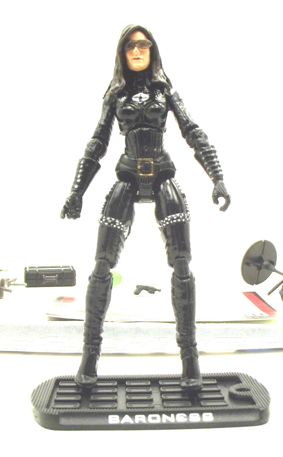 2009 ROC G.I. JOE COBRA BARONESS V13 ATTACK ON THE PIT LOOSE 100% COMPLETE + F/C
