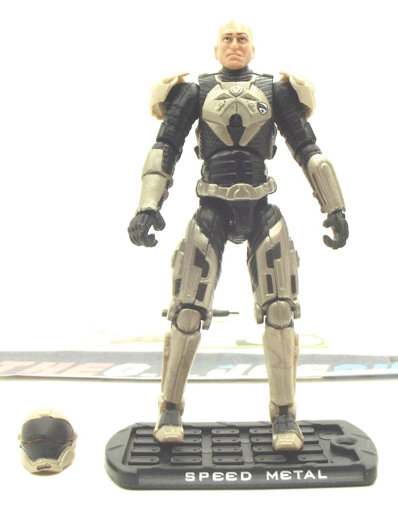 2009 ROC G.I. JOE SPEED METAL V1 SENIOR RANKING OFFICERS PACK TRU EXCLUSIVE LOOSE 100% COMPLETE + F/C