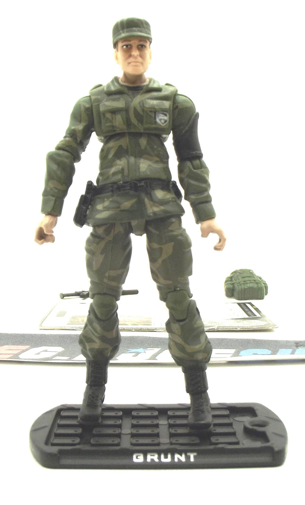 2009 ROC G.I. JOE GRUNT V12 SENIOR RANKING OFFICERS PACK TRU EXCLUSIVE LOOSE 100% COMPLETE + F/C