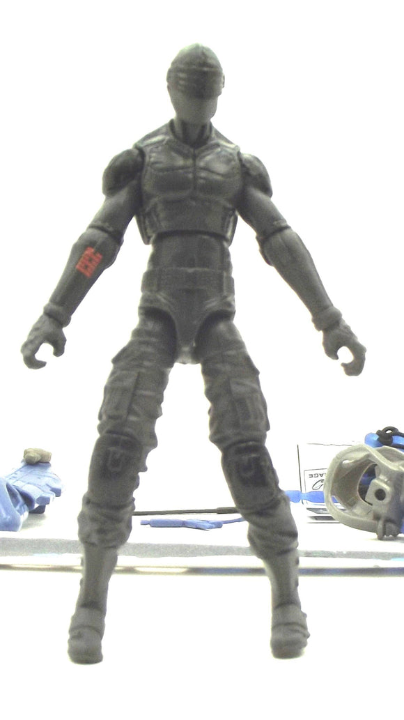 2012 RETALIATION G.I. JOE SNAKE EYES V58 LOOSE 100% COMPLETE + FULL CARD