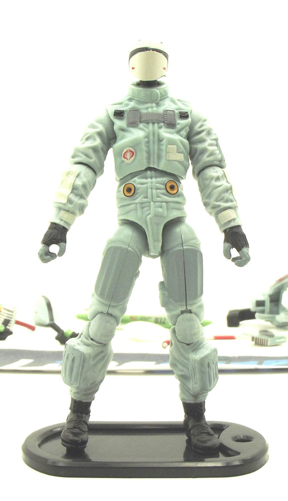 2013 RETALIATION G.I. JOE COBRA DATA VIPER V1 LOOSE 100% COMPLETE