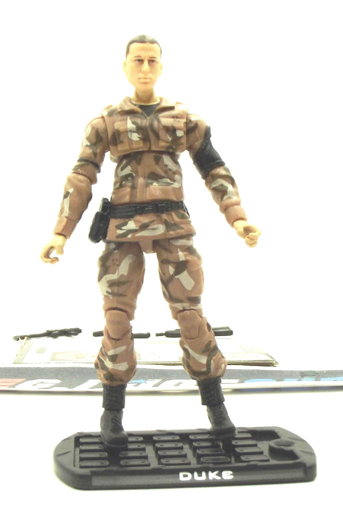 2009 ROC G.I. JOE DUKE V37 G.I. JOE VS. COBRA PACK K-MART EXCLUSIVE LOOSE 100% COMPLETE + F/C