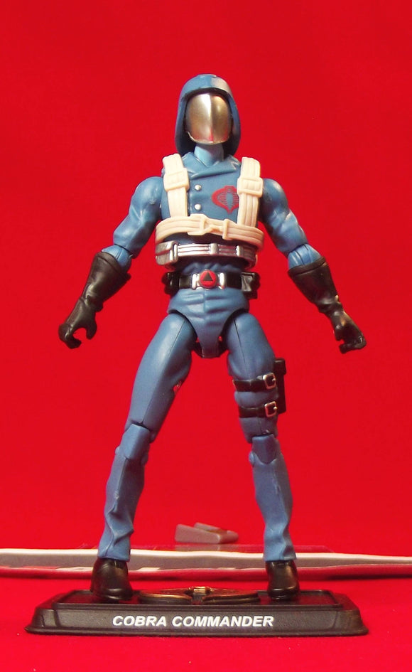2015 50TH ANNIV G.I. JOE COBRA COMMANDER V36 CHASE FOR THE M.A.S.S. DEVICE PACK C.L.A.W. PILOT LOOSE 100% COMPLETE + F/C