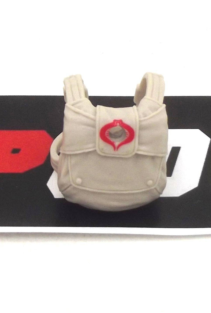 2015 50TH ANNIVERSARY COBRA COMMANDER V36 PARACHUTE HARNESS BACKPACK ACCESSORY PART CUSTOMS