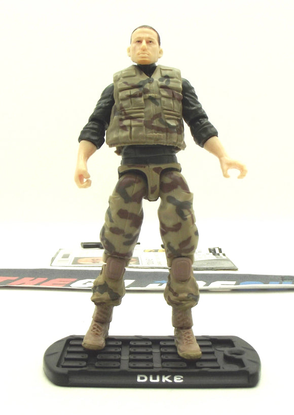 2009 ROC G.I. JOE DUKE V36 ATTACK ON THE PIT PACK TRU EXCLUSIVE LOOSE 100% COMPLETE + F/C