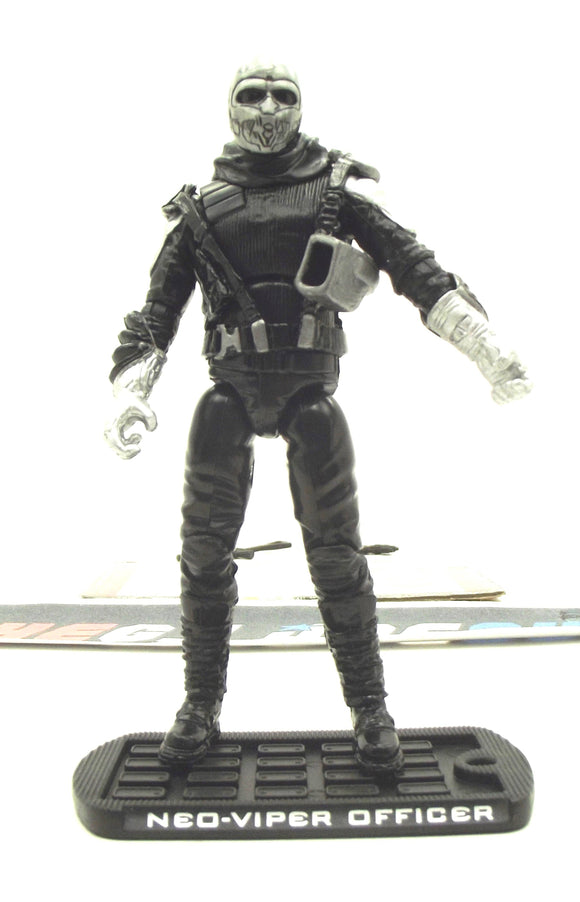 2009 ROC G.I. JOE COBRA NEO-VIPER OFFICER V1 ATTACK ON THE PIT PACK TRU EXCLUSIVE LOOSE 100% COMPLETE + F/C