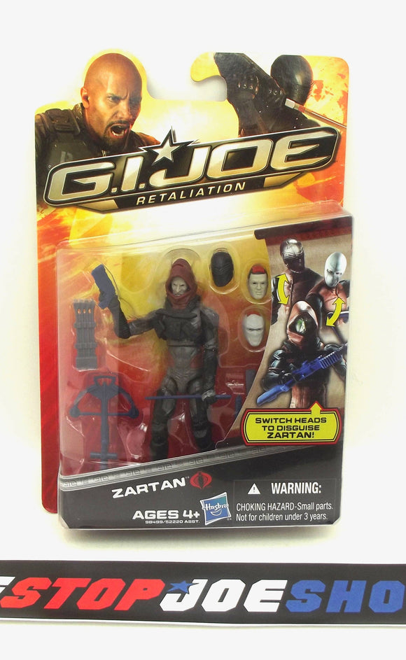 2012 RETALIATION G.I. JOE COBRA ZARTAN V21 NEW SEALED