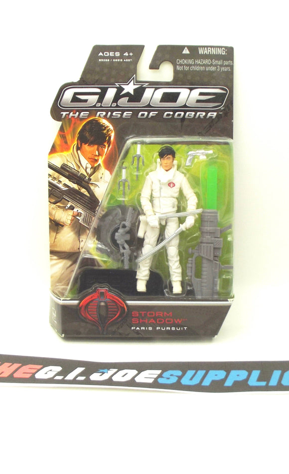 2009 ROC G.I. JOE COBRA STORM SHADOW V33 NEW SEALED