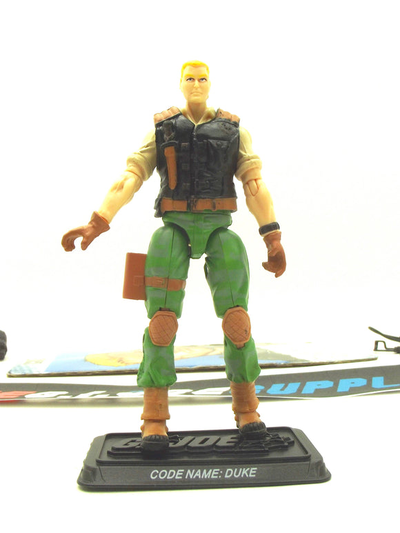 2009 25TH ANNIV G.I. JOE DUKE V31 DVD BATTLE PACK LOOSE 100% COMPLETE + F/C