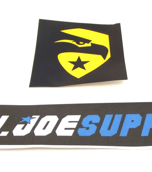 G.I. JOE RISE OF COBRA G.I. JOE LOGO DECAL STICKER WAL-MART EXCLUSIVE