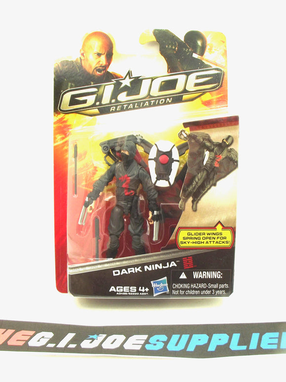 2013 RETALIATION G.I. JOE COBRA DARK NINJA V1 NEW SEALED