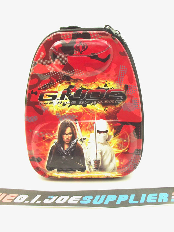 G.I. JOE RISE OF COBRA TIN METAL LUNCHBOX BACKPACK BARONESS / STORM SHADOW
