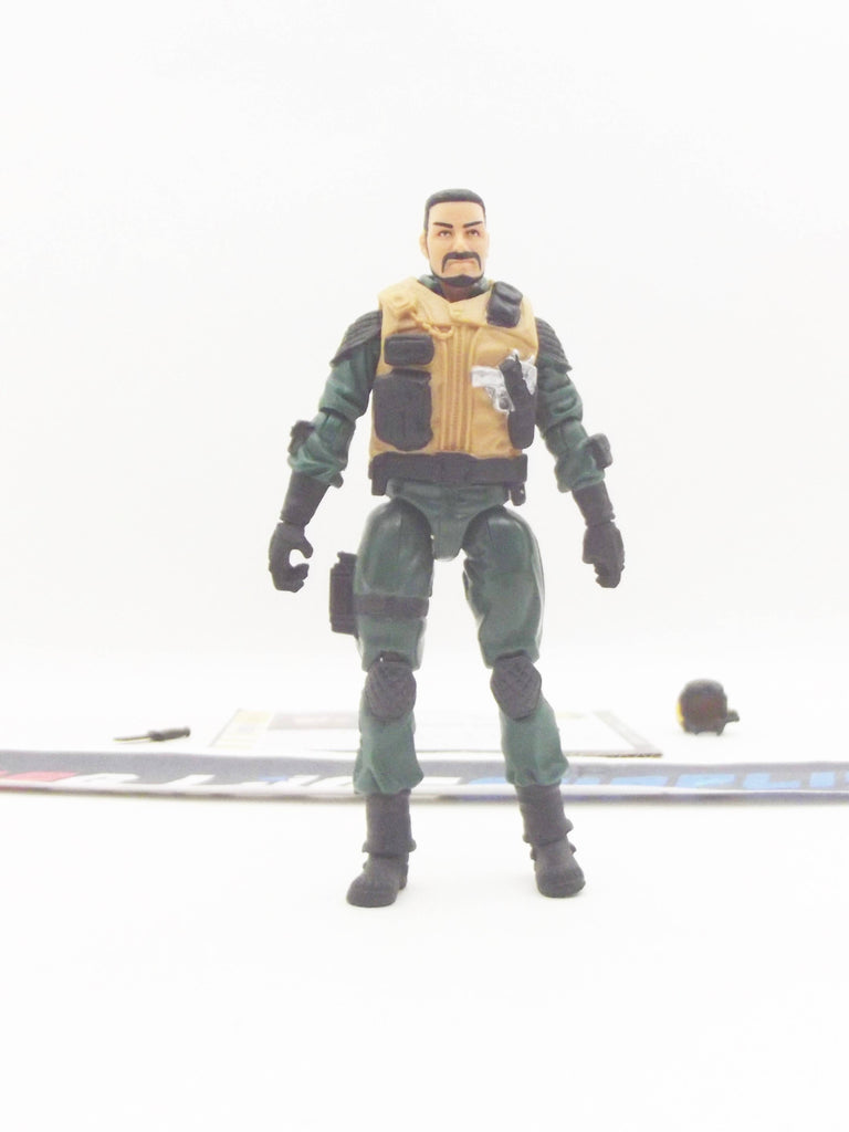 2010 POC G.I. JOE TOMAHAWK V1 ALPHA VEHICLE GHOST HAWK PILOT LOOSE 100% COMPLETE + F/C