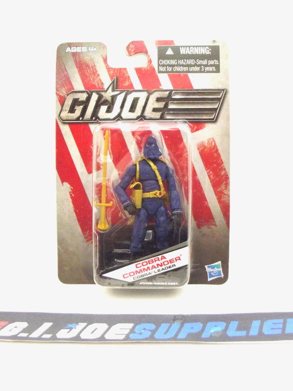 2013 DG G.I. JOE COBRA COMMANDER V52 DOLLAR GENERAL EXCLUSIVE LOOSE 100% COMPLETE
