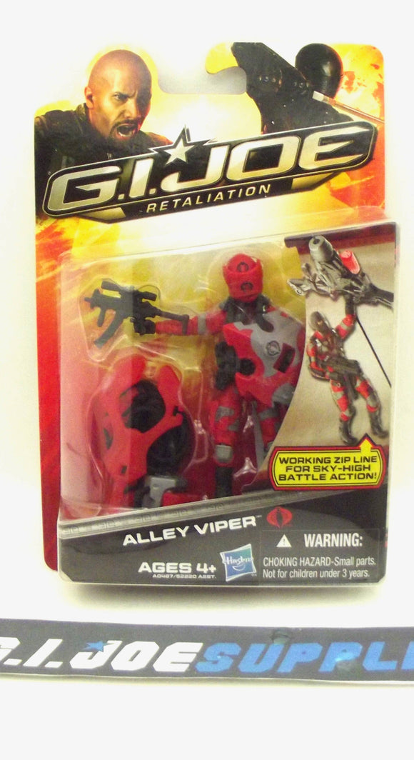 2013 RETALIATION G.I. JOE COBRA ALLEY VIPER V14 NEW SEALED