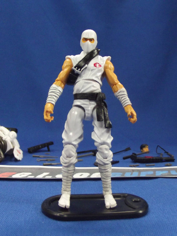 2013 RETALIATION G.I. JOE COBRA STORM SHADOW V49 ULTIMATE LOOSE 100% COMPLETE