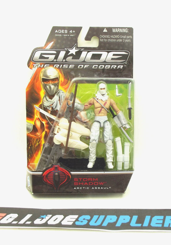 2009 ROC G.I. JOE COBRA STORM SHADOW V34A ARCTIC ASSAULT NEW SEALED MASKED VARIANT