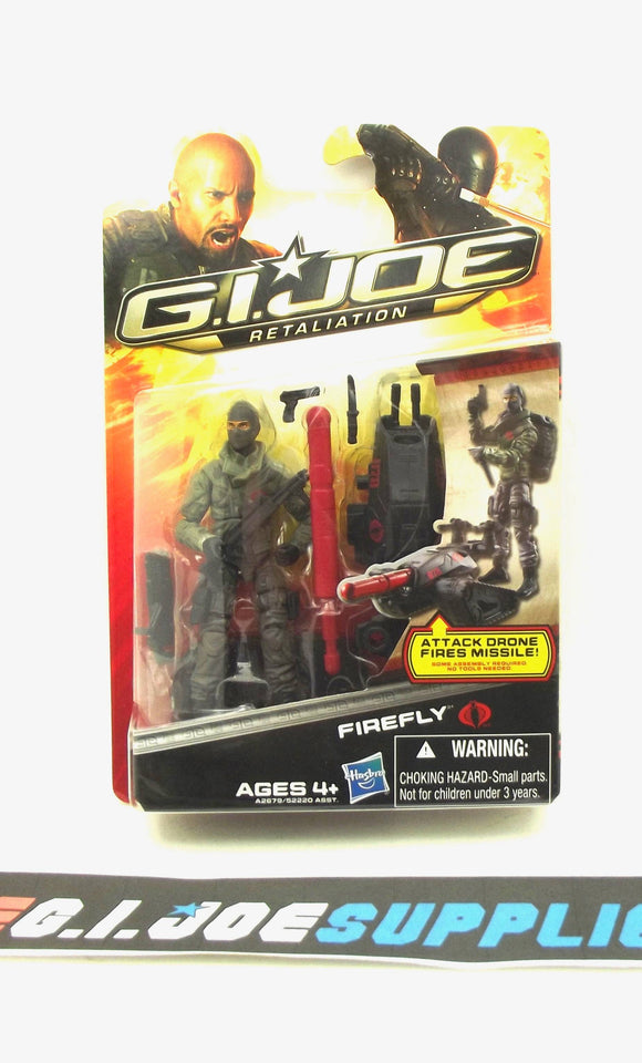 2013 RETALIATION G.I. JOE COBRA FIREFLY V27 ULTIMATE NEW SEALED