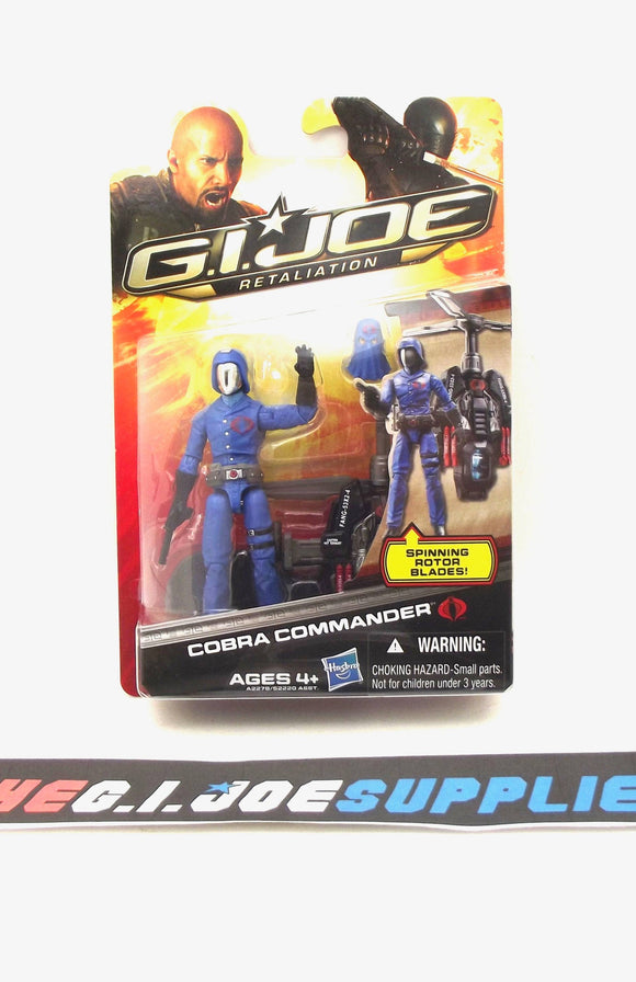 2013 RETALIATION G.I. JOE COBRA COMMANDER V53 ULTIMATE NEW SEALED