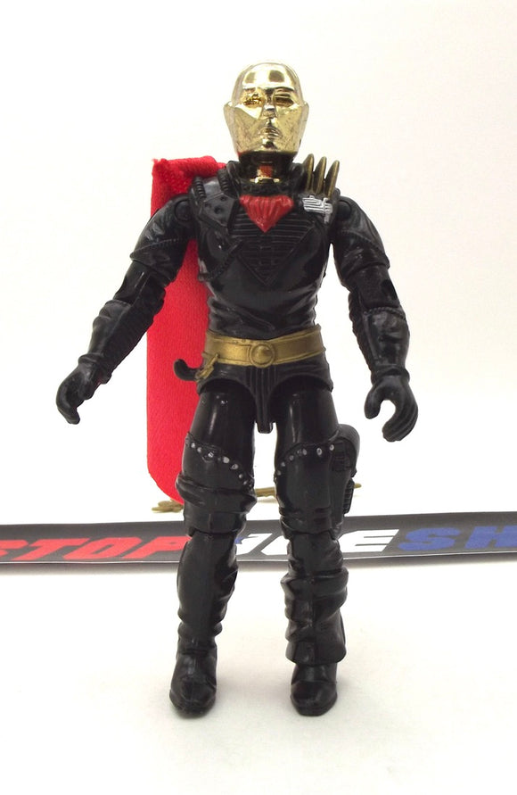 1988 ARAH G.I. JOE COBRA DESTRO V2 IRON GRENADIER LEADER DESPOILER PILOT LOOSE 100% COMPLETE (c)