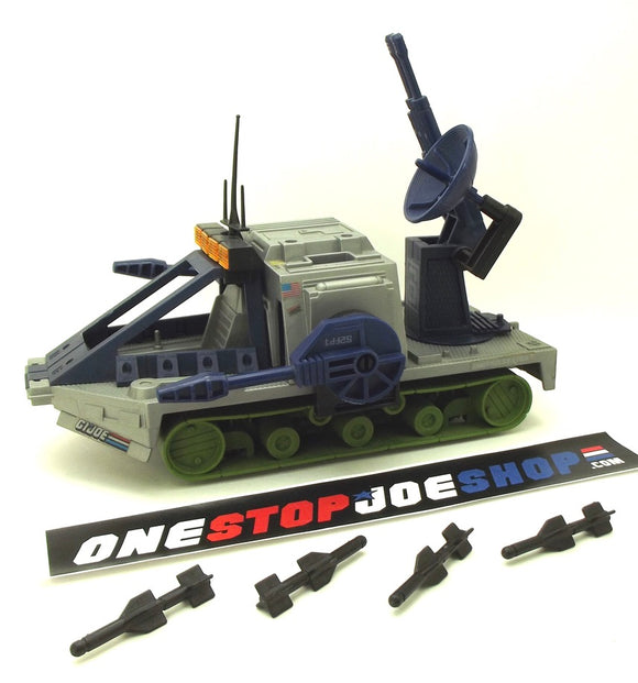 1987 VINTAGE ARAH G.I. JOE BATTLE FORCE 2000 SKY SWEEPER LOOSE 100% COMPLETE (a)