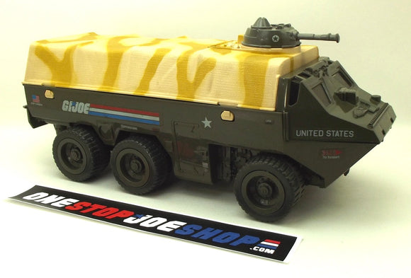 1983 VINTAGE ARAH G.I. JOE APC AMPHIBIOUS PERSONNEL CARRIER VEHICLE LOOSE 100% COMPLETE (e)
