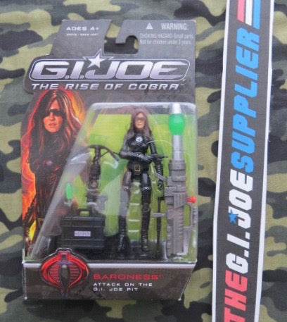 2009 ROC G.I. JOE COBRA BARONESS V13 ATTACK ON THE PIT NEW SEALED