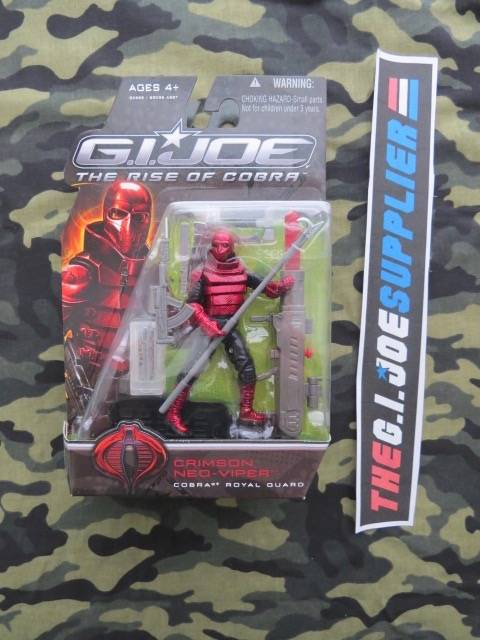 2009 ROC G.I. JOE COBRA CRIMSON NEO-VIPER V1 NEW SEALED