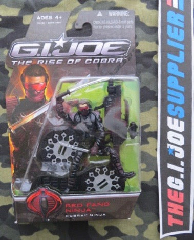 2009 ROC G.I. JOE COBRA RED FANG NINJA V1 NEW SEALED