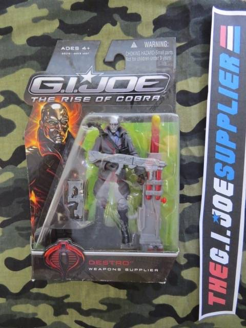 2009 ROC G.I. JOE COBRA DESTRO V23 NEW SEALED