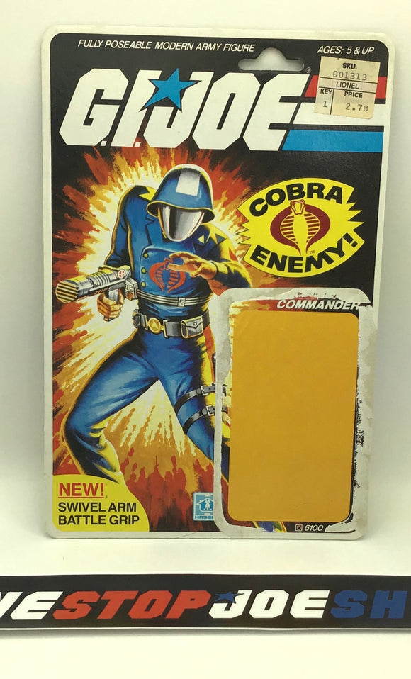 1982-83 VINTAGE ARAH COBRA COMMANDER V1.5 FULL FILE CARD