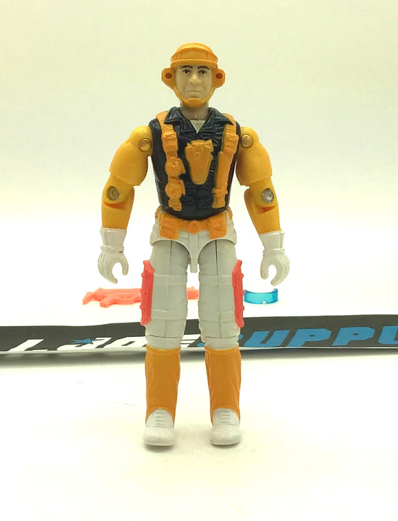 1991 VINTAGE ARAH G.I. JOE CLOUDBURST V1 AIR COMMANDOS GLIDER TROOPER GLIDER PILOT LOOSE 100% COMPLETE (b)