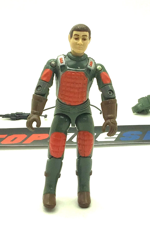 1982-83 VINTAGE ARAH G.I. JOE FLASH V1.5 LASER RIFLE TROOPER LOOSE 100% COMPLETE