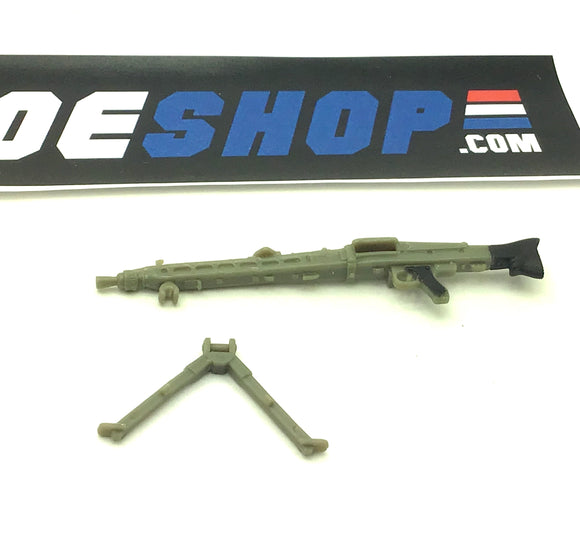 2008 25TH ANNIV ROCK 'N ROLL V1 MACHINE GUN W/ BIPOD ACCESSORY PART CUSTOMS